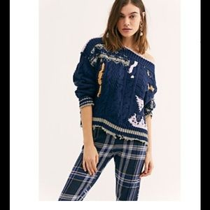 Free People Throwing Shapes Pullover never worn